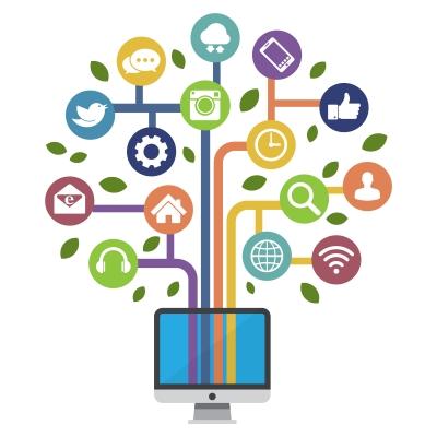 Socialmedia-Marketing-Baum