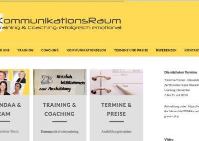 Webdesign Kommunikationsraum.info